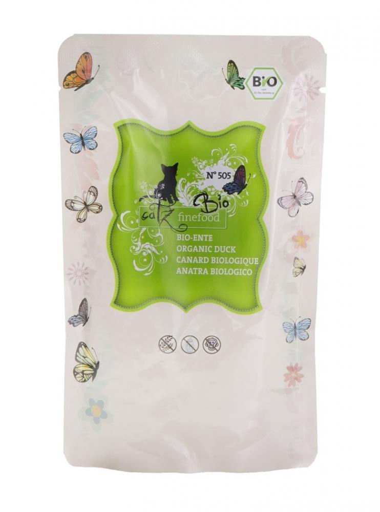 Catz Finefood Bio N.505 saszetka organiczna kaczka 85g