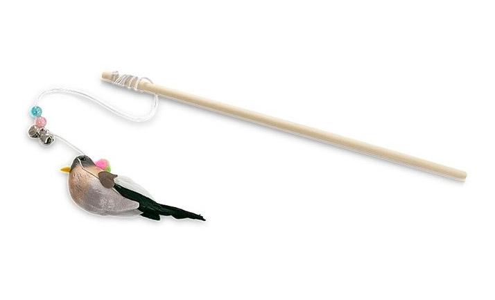 Yarro Wędka dla kota z ptaszkiem  30 cm