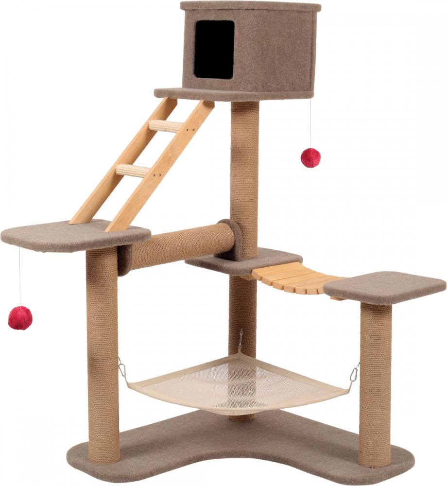 Trixie Drapak koci park rozrywki Cat Park 3 beżowy 98x124x132 cm