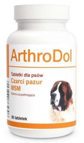 Zdjęcie Dolfos Arthrodol preparat przeciwbólowy  dla psów 90 tbl.