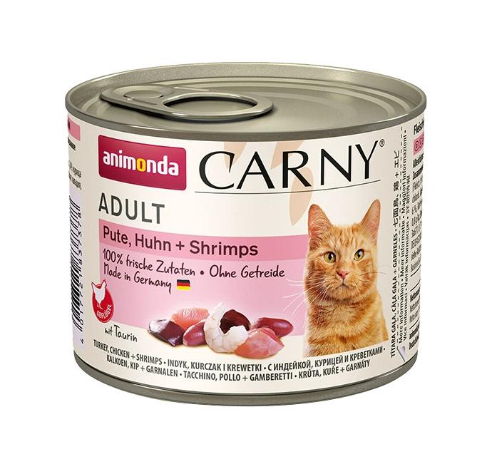 Animonda Carny Adult indyk, kurczak + krewetki 200g