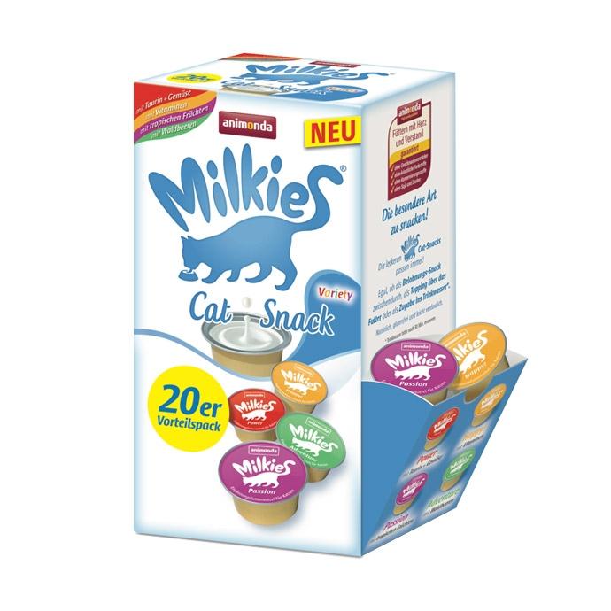 Zdjęcie Animonda Przysmak dla kota Milkies Megapak  Variety Mix  20x 15g