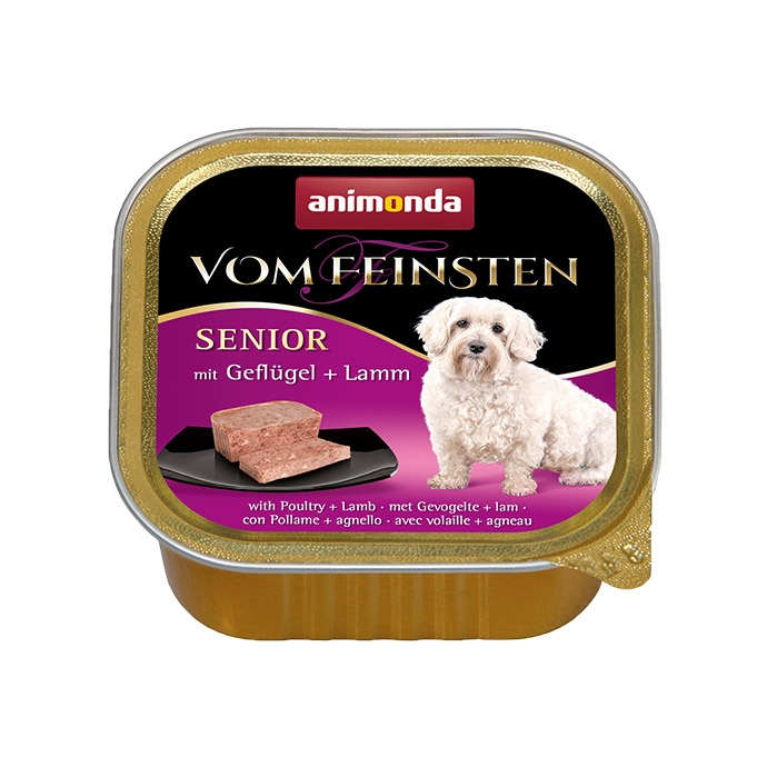 Zdjęcie Animonda Vom Feinsten Dog Senior  drób + jagnięcina 150g