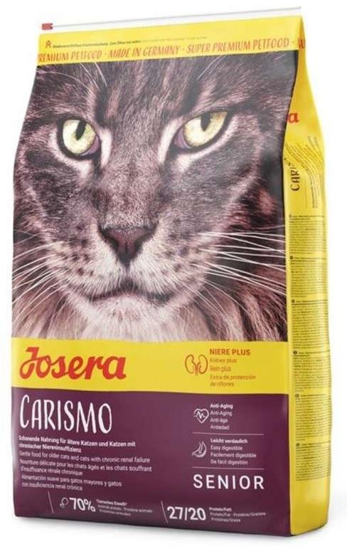 Josera Cat Carismo dla kotów starszych i z problemami nerek 400g