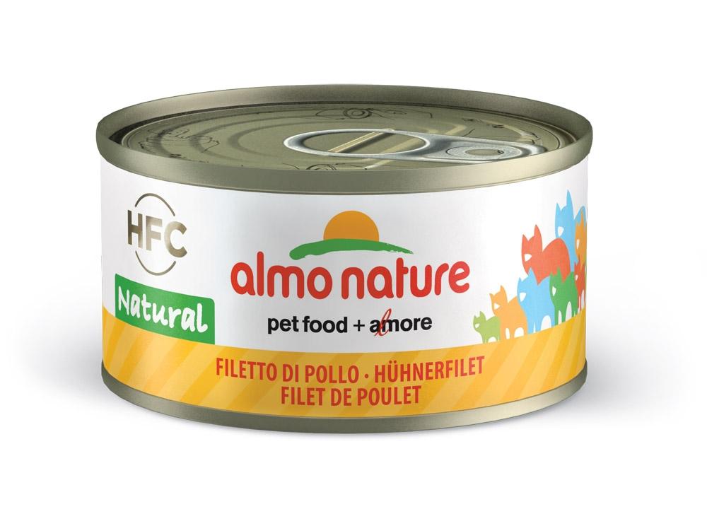 Zdjęcie Almo Nature HFC Natural puszka w sosie filet z kurczaka 70g