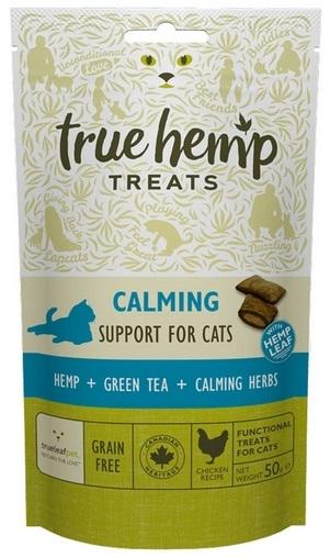 True Hemp Calming Support for Cats uspokające przysmaki dla kota 50g