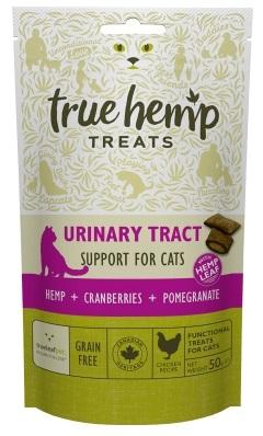 True Hemp Urinary Tract Support for Cats przysmaki dla kota wspierające układ moczowy 50g