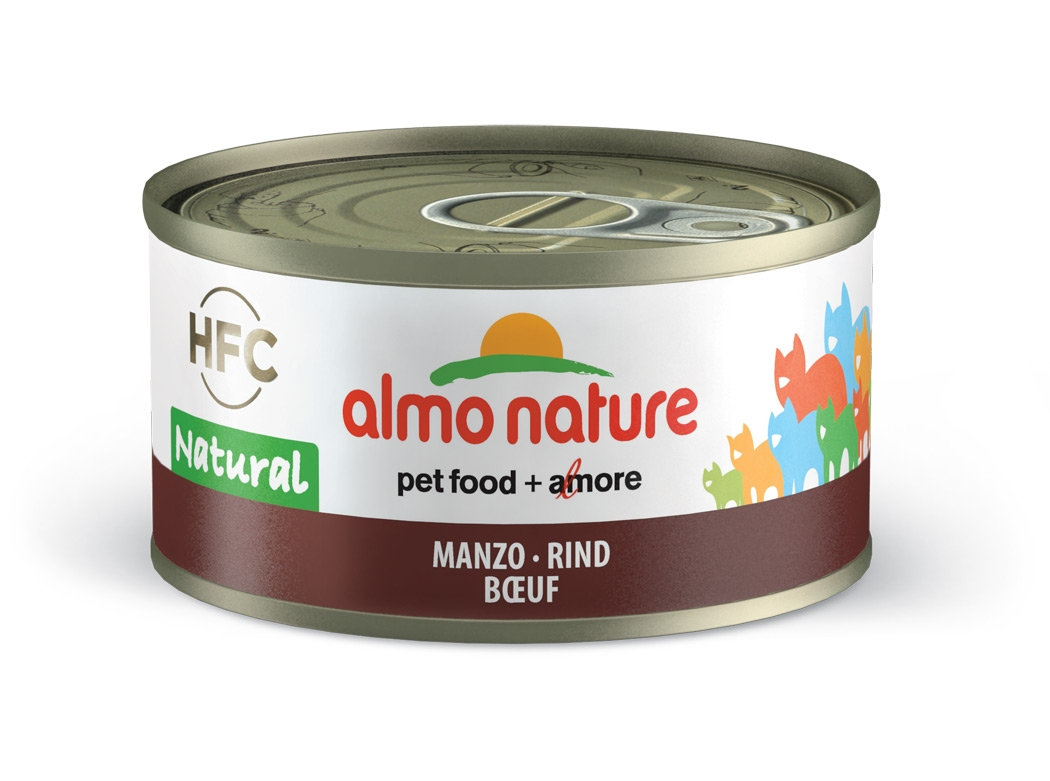 Almo Nature HFC Natural puszka w sosie wołowina 70g