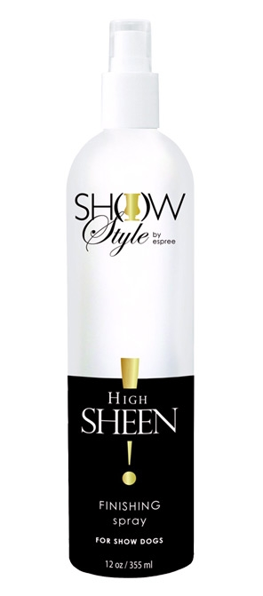 Zdjęcie Espree High Sheen Finishing Spray  nabłyszczacz do sierści 355ml