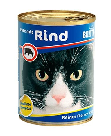 Bozita Puszka dla kota pasztet z wołowiną 410g