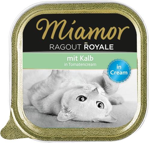 Miamor Ragout Royale tacka z cielęciną w pomidorowym kremie 100g