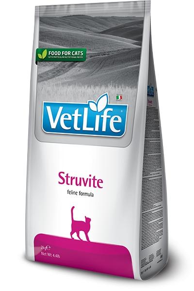Farmina Vet Life Cat Struvite rozpuszczanie kryształów struwitowych 2kg