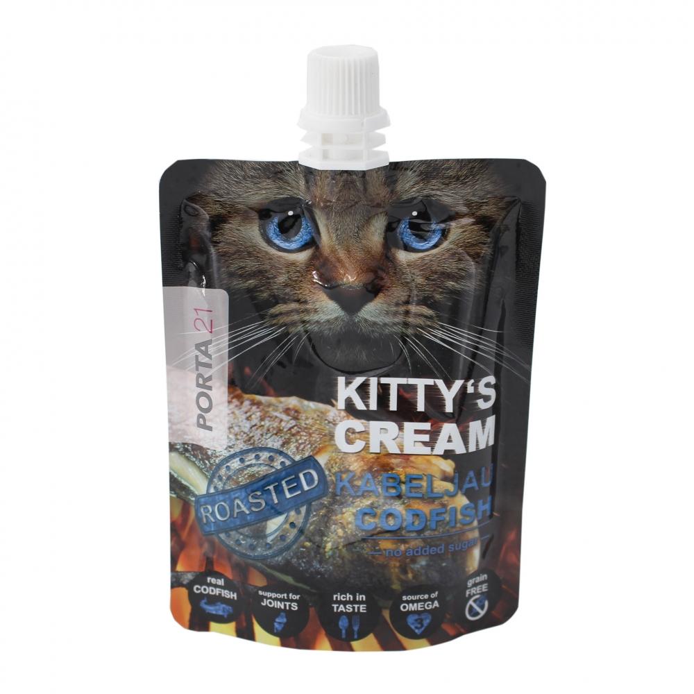 Feline Porta 21 Kitty's Cream  pieczony dorsz 90g