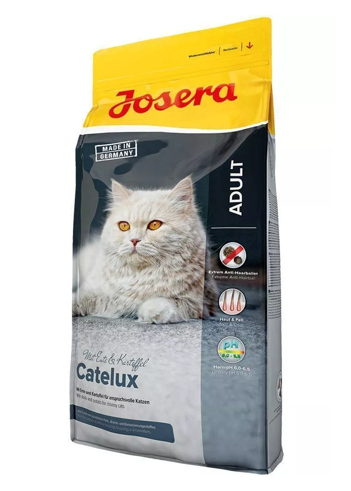 Josera Cat Catelux odkłaczająca dla kotów wybrednych 400g
