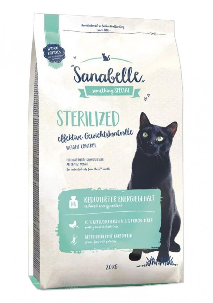 Sanabelle Sterilized No Grain ze świeżym drobiem 2kg