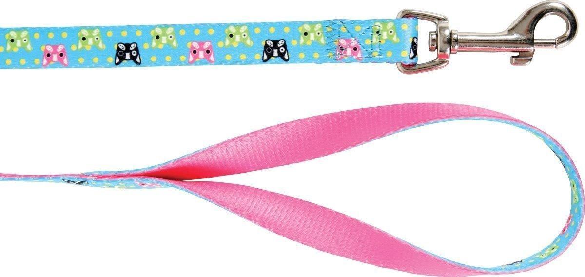 Zdjęcie Zolux Smycz dla psa Candy  turkusowa 120 cm / 1 cm