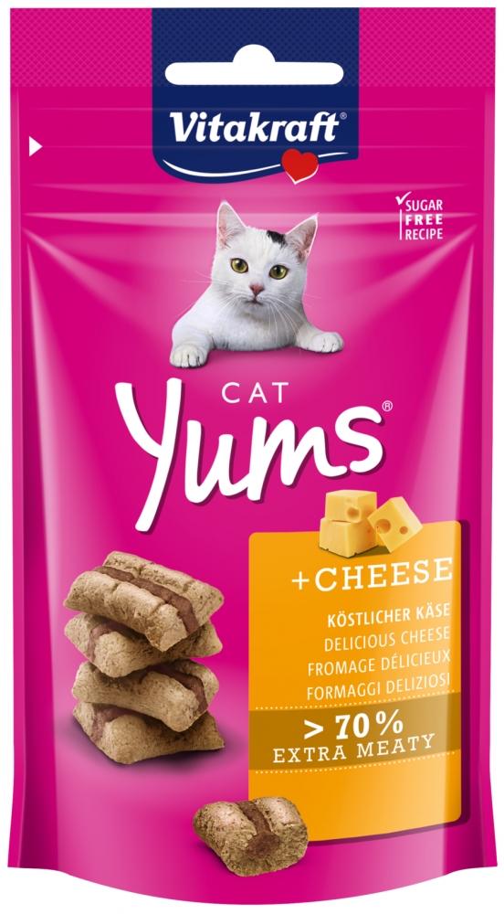Vitakraft Yums miękie przysmaczki dla kota ser 40g