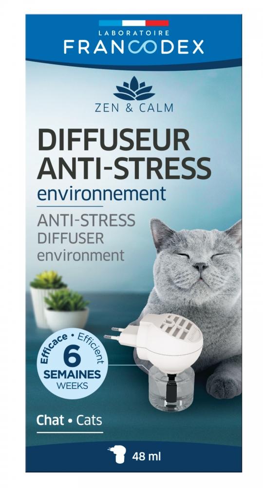 Francodex Dyfuzor relaksujący dla kota na 6 tygodni feromony dla kotów 48ml