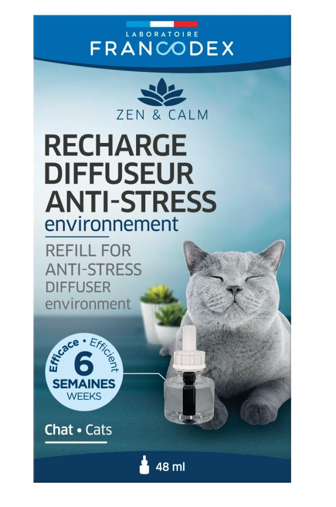 Francodex Wkład do dyfuzora relaksującego dla kota  feromony dla kotów 48ml