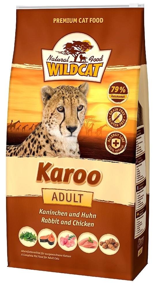 Wildcat Karoo karma dla kota z królikiem i drobiem 500g