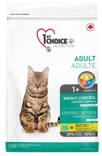 1st Choice Cat Light Weight Control  5.44kg