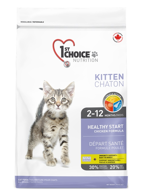 1st Choice Cat Kitten Healthy Start  2.72kg