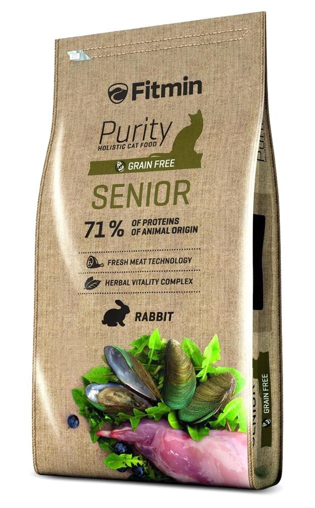 Fitmin Cat Purity Senior Grain Free dla starszych kotów 400g