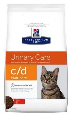 Zdjęcie Hill's Vet Feline c/d Urinary Care Multicare kurczak 10kg