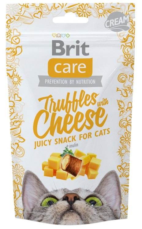 Brit Care Cat Snack Truffles z serem i inuliną 50g