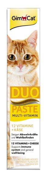Gimcat Multi-Vitamin Duo Paste witaminowa z serem i 12 witaminami 50g