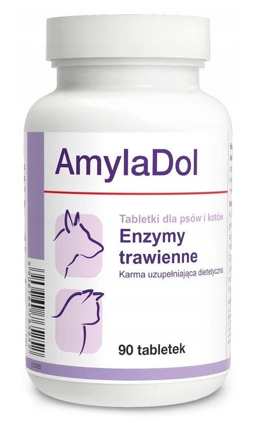 Dolfos AmylaDol dla psów i kotów 90 tbl.