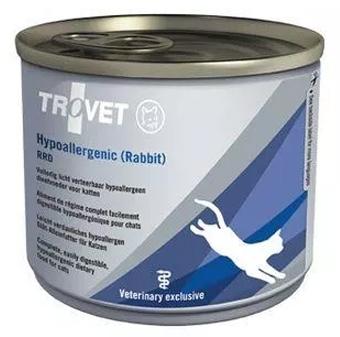 Zdjęcie Trovet RRD (rabbit rice diet)  puszka dla kota 200g