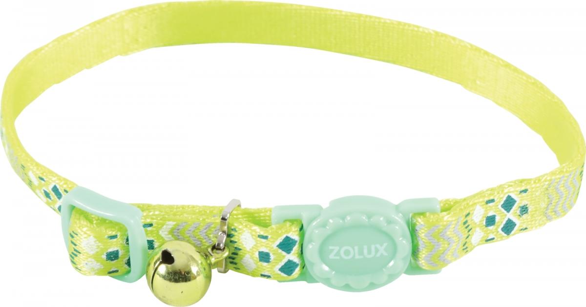 Zolux Obroża dla kota Ethnic zielona