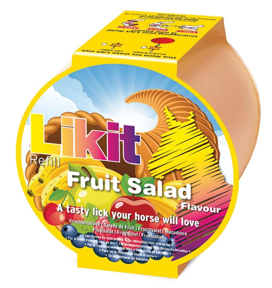 Zdjęcie Likit Refill Rainbow lizawka dla konia - wkład  fruit salad 650g