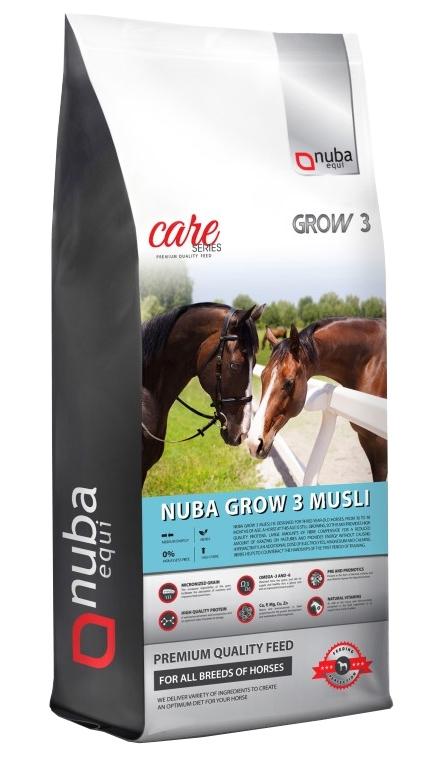 Zdjęcie Nuba Equi Grow 3 Musli 2G pasza dla koni trzyletnich  20kg