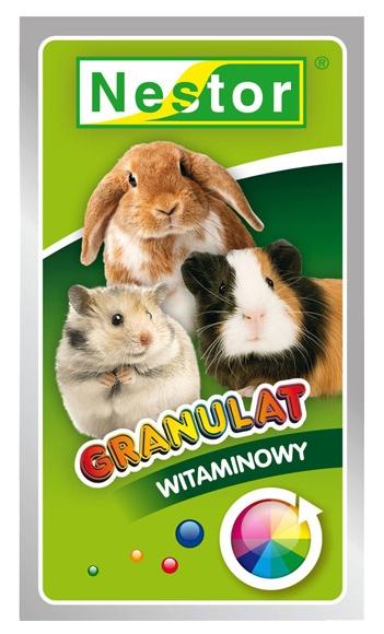 Zdjęcie Nestor Granulat witaminowy w saszetce  dla królików i gryzoni 20g