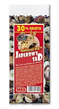 Zdjęcie Certech Natural-Vit Mieszanka dla królików i gryzoni  jabłkowy sad 300g