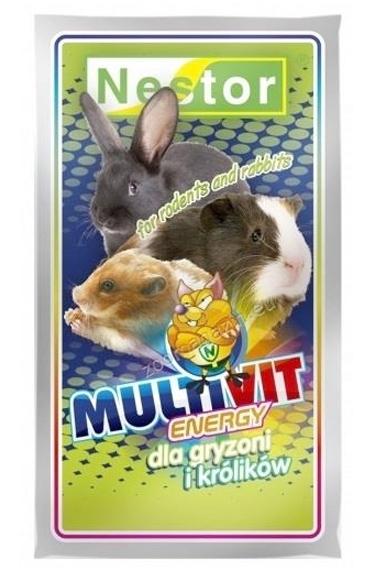Zdjęcie Nestor Odżywka dla gryzoni Multivit Energy  dla królików i gryzoni 20g