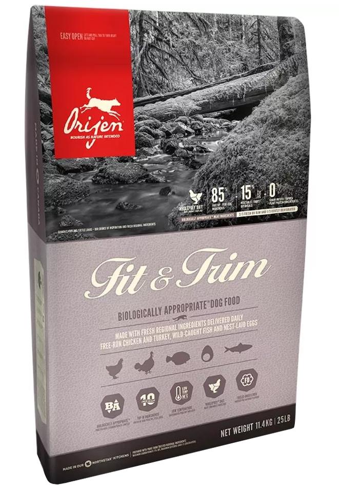 Zdjęcie Orijen Dog Fit & Trim  sucha karma dla psów dorosłych 11.4kg