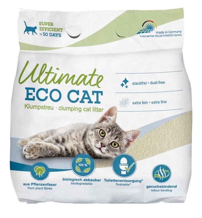 Top Pets Ultimate Eco Cat żwirek zbrylający ekologiczny dla kotów 10l