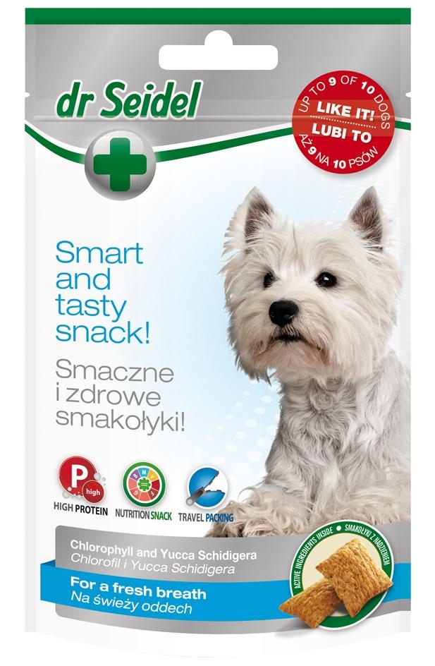 Zdjęcie dr Seidel Przysmaki dla psów  świeży oddech 90g