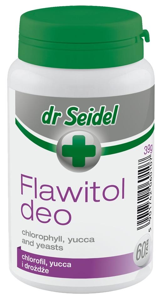 Zdjęcie dr Seidel Flawitol Deo w tabletkach  na trawienie i nieprzyjemne zapachy 60 szt.