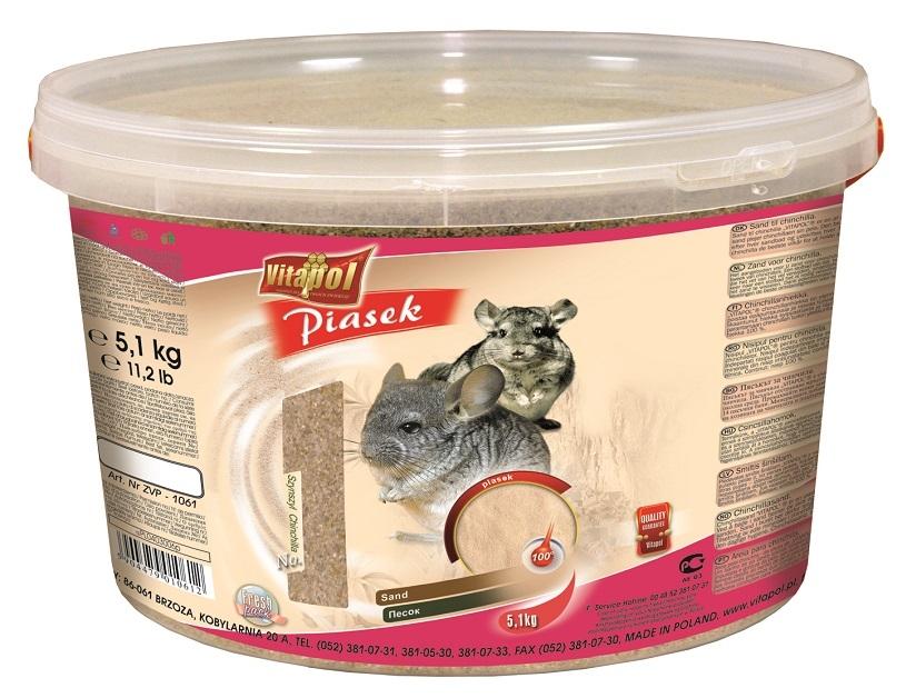 Zdjęcie Vitapol Piasek dla szynszyli  wiaderko 3l (5kg)
