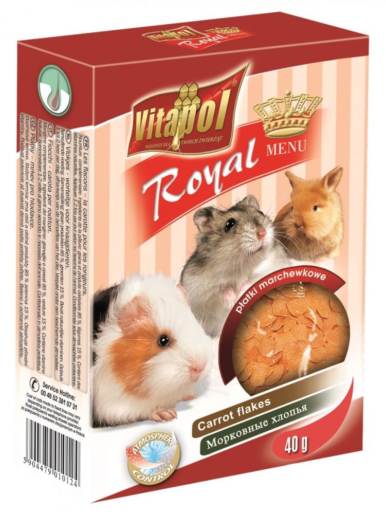 Zdjęcie Vitapol Royal menu dla królików i gryzoni  marchewka 40g
