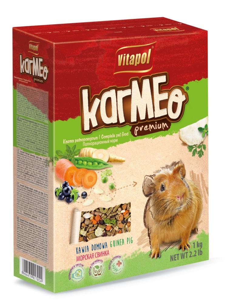 Zdjęcie Vitapol Karmeo Premium pokarm pełnoporcjowy  dla świnki morskiej 1kg