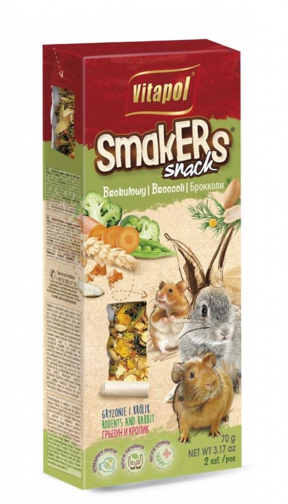 Zdjęcie Vitapol Kolby dla gryzoni Smakers  brokułowe 2 szt.