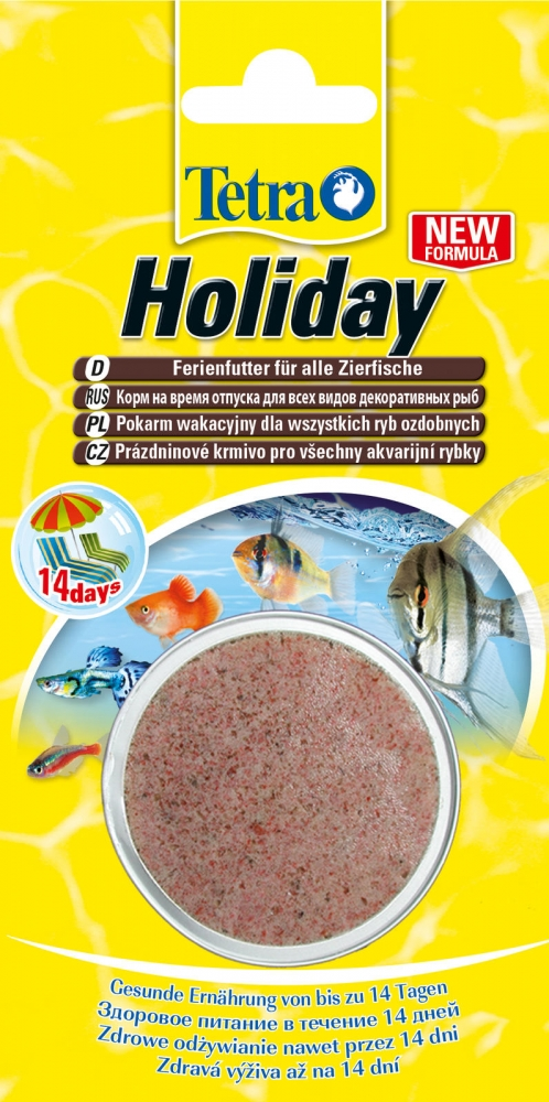 Zdjęcie Tetra TetraMin Holiday  pokarm wakacyjny dla ryb 30g