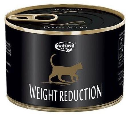 Dolina Noteci Natural Taste puszka Weight Reduction dla kotów z nadwagą 185g