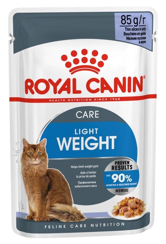Royal Canin Saszetka Light Weight Care w galaretce 85g