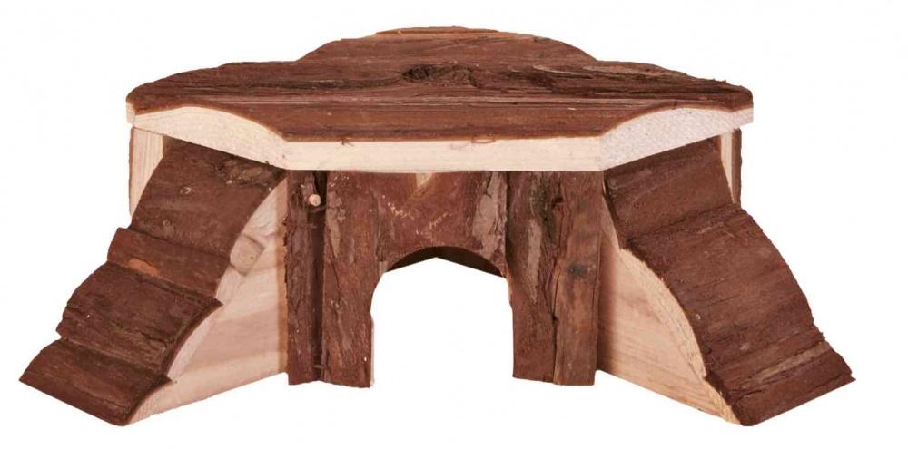 Zdjęcie Trixie Drewniany domek narożny Thordis  dla chomika 21x7x19/19 cm